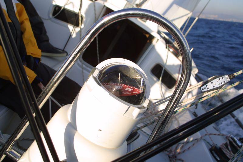 Compas barre a roue